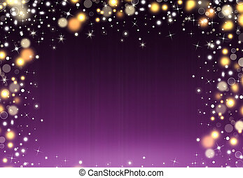 Glittery beautiful bokeh background