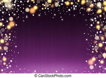Glittery beautiful bokeh background