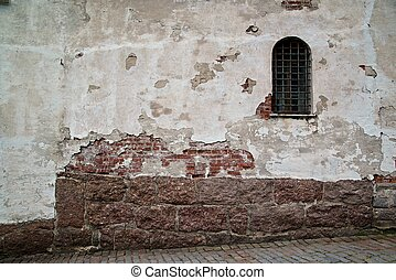 Brickwork - the picture of brickwork in the castle