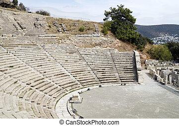 Bodrum amphitheatre - Ancient amphitheatre in Bodrum, Turkey