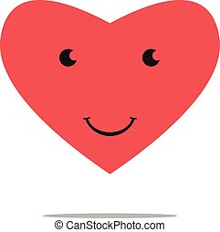 Smiling heart character.eps