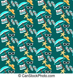 summer holidays pattern