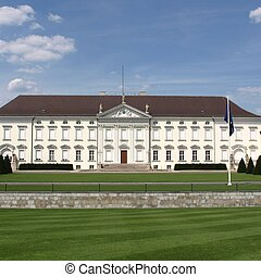 Schloss Bellevue Berlin - Schloss Bellevue, Berlin -...
