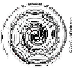 spiral grunge chain