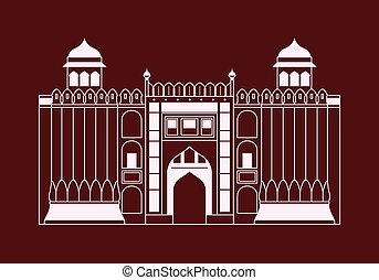 Lahore Fort - The Lahore Fort, locally referred to as the...