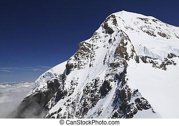 Mount Eiger, Swiss - Mount Eiger in the Jungfrau region,...