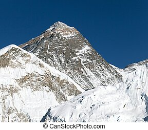 Top of Mount Everest from Kala Patthat, way to Everest base...