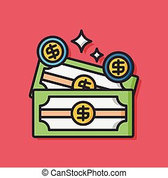 casino money gambling icon