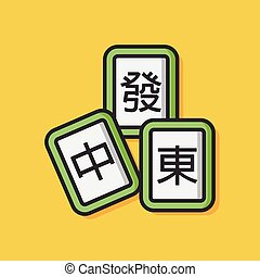 Chinese Mahjong Game icon