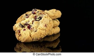 Dried fruits chip cookies