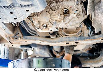 auto repair service.