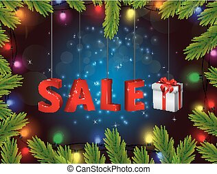 Christmas Gift Boxes of sale - Illustration of Christmas...