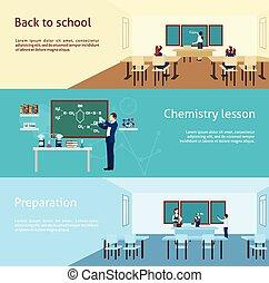 Teacher Banner Set - Teacher horizontal banner set with...