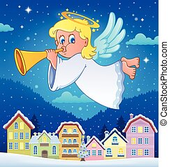 Angel theme image 6 - eps10 vector illustration.