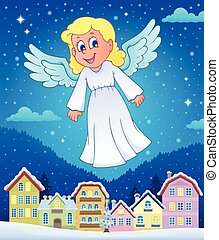 Angel theme image 7 - eps10 vector illustration.