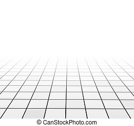 Abstract background with tiling