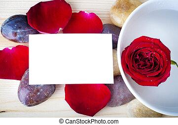 Rose petal spa.