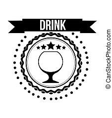 beverage menu design, vector illustration eps10 graphic