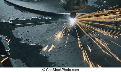 quick Industrial laser plasma cutting processing manufacture...