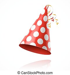 Party hat illustration