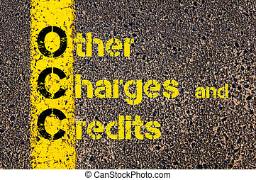 Accounting Business Acronym OCC Other Charges and Credits -...
