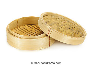 bambú, vapor