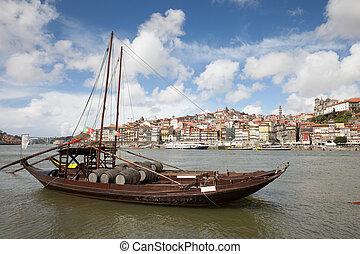 City of Porto River View in Portugal