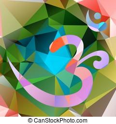 Om or Aum symbol