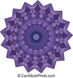 Nice axisymmetric mandala - Nice symmetrical mandala...