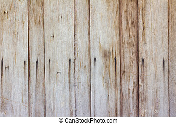 grungy brown wood plank wall texture background.