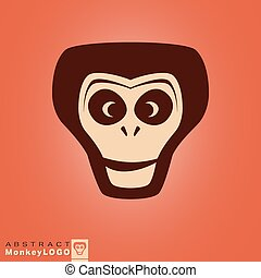 Monkey logo template - Logo Monkey for corporate identity...