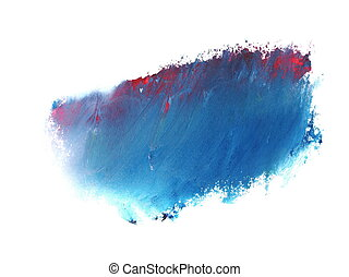 blue red grunge brush strokes oil - photo blue red grunge...