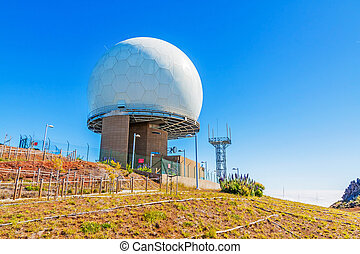 Pico do Arieiro - radar station - Madeira, Portugal - June...