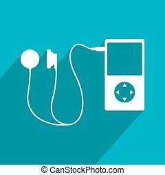 actual music icon - Creative design of actual music icon