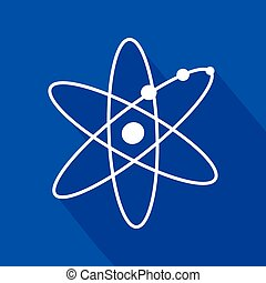 atomic symbol - Creative design of atomic symbol