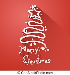 christmas sign - Creative design of christmas sign