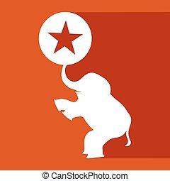 imaginative circus symbol