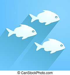nice fishes - Creative design of nice fishes