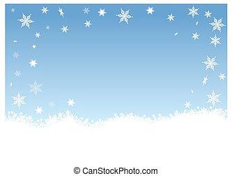Snow flakes - snow flakes
