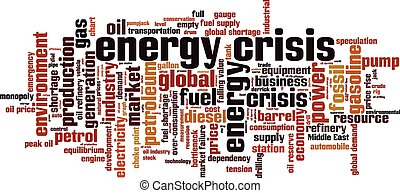 Energy crisis [Converted].eps - Energy crisis word cloud...