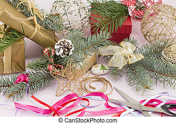 Decorating for Christmas celebration creative chaos -...