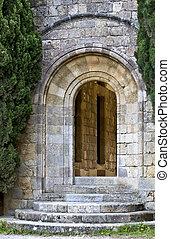 antigas, medieval, PORTA, Filerimos, rhodes, Grécia