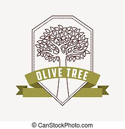 oliva, albero, design, ,