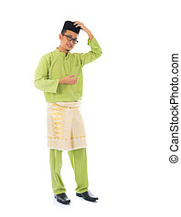 traditional malay male