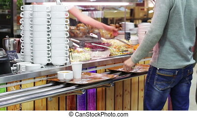 Ready To Eat Prepared Food At Grocery Store - Food is sold...