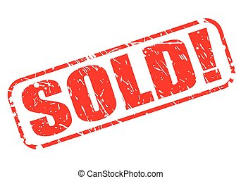SOLD red stamp text