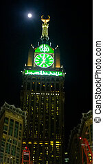 Makkah Clock Tower - Picture of Makkah Clock Tower, It is a...
