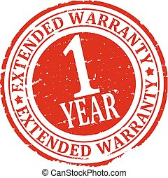 Damaged round stamped - Extended Wa - Scratched red round...