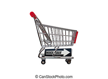 Huge Sale Shopping Cart - Huge Sale Arrow Shopping cart...