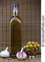 olive oil and green olives - green olives stuffed olive oil...